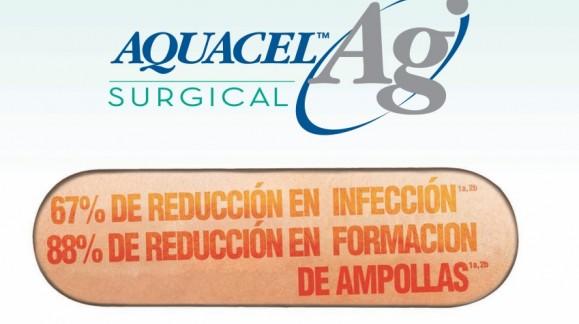 Adiós infección - Aquacel Ag Surgical
